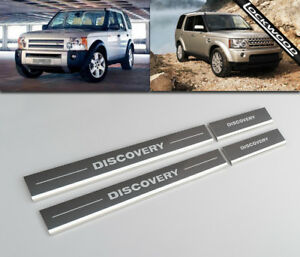 Land Rover Discovery 3 & 4 Kick Plates Sill Protector guards