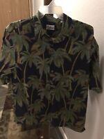 Reyn Spooner Hawaiian Button Up. Palm Tree Size XL
