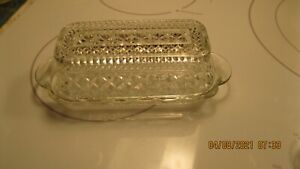 Anchor Hocking Wexford Glass Butter Dish