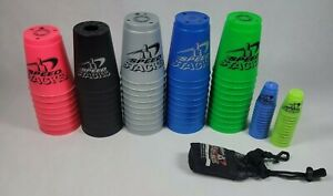 Speed Stacks 71cup lot Official Cup Of WSSA 47 Big cups 24 Mini Glow in theDark