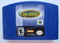 Tony Hawk's Pro Skater Nintendo 64 N64 Video Game OEM Blue Cart Authentic GOOD!