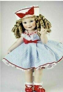 RARE ~NRFB ~Marie Osmond I LOVE YOU BABY Porcelain Doll ~ NEW ~Americana Dress