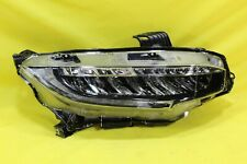 💒 16 17 18 19 Honda Civic Right Passenger Headlight OEM (Touring) *TOP TAB CHIP