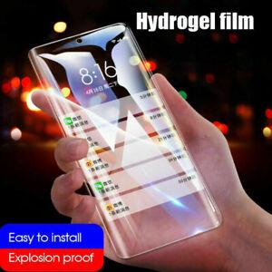 Hydrogel Film For Xiaomi Poco F1 Note10 Pro Mi 9T Black Shark 8A Screen Protecto