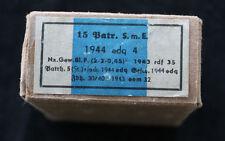 Viejos los cartuchos vacíos caja 1944/para mosquetón 98/cartucho SME (2)