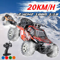 1/18 RC Remote Control Off Road Car Vehicle 2.4G Electric Monster Truck Kid  #
