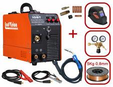 Set MIG MAG Schutzgas Schweißgerät MIG-250 + Helm + Draht 0,8mm + Druckminderer