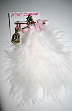BETSEY JOHNSON MARIE ANTOINETTE CAT PRINCESS  AND BIRDCAGE MIS MATCHED EARRINGS