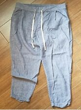 Chambray GAP Crops Size 10