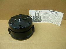 1950s 60s NOS YC ZC MALLORY 6 CYL DISTRIBUTOR CAP 4002 BUICK CHEVY FORD MOPAR V6