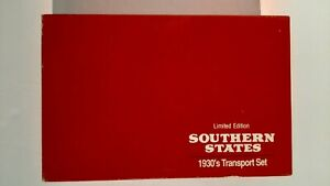 1990-ERTL-Southern States Limited Edition 1930's Transport Set 1/43-#7628UO