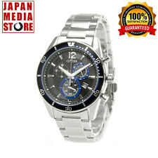 Citizen VO10-6741F ALTERNA Eco-Drive Chronograph Watch 100% Genuine JAPAN
