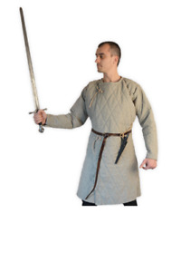 Medieval Viking Gambeson For Armor Reenactment Full Sleeves