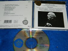 CD ARTURO TOSCANINI COLLECTION tchaïkovsky STRAUSS philadelphia orchestra 1990