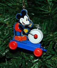 Mickey Mouse, Drummer, Disney Christmas Ornament