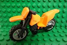 LEGO  Minifigure Dirt Bike Orange /NEW