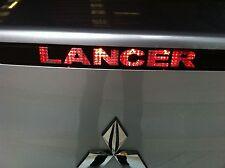 MITSUBISHI LANCER 2008+ SEDAN rear brake light sticker / decal  black color x 2