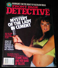 1990 Front Page Detecive OHIO LADY IN CEMENT (N-MINT COPY)