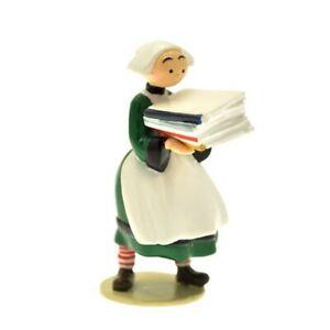 Figurine Becassine piles de livres - Collection Origine Bécassine - GAUTIER / LA
