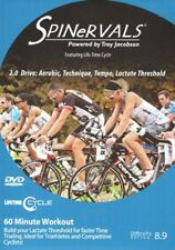 SPINERVALS DRIVE: AEROBIC TECHNIQUE TEMPO LACTIC THRESHOLD CYCLE BIKE DVD NEW