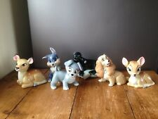 More details for selection of rare wade large blow up figurines c1961-63 disney lady & the tramp