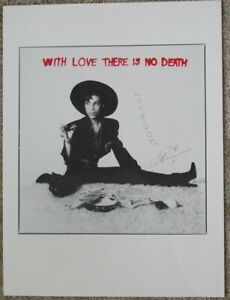 """Prince poster - """"With Love There Is No Death"""" 16""""x20"""""""