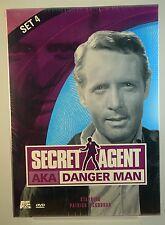 Secret Agent AKA Danger Man - Set 4 (DVD, 2002, 2-Disc Set) - FACTORY SEALED