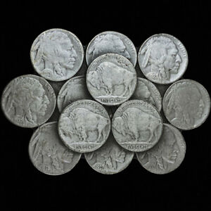 Buffalo Bison 5 Cents Coin Nickel Cowboy Western 1980s NOS Vintage Belt Buckle