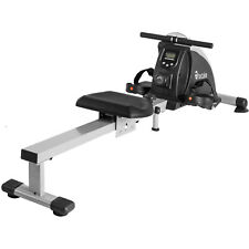 Fitness Pulley Indoor Rowing Machine Hometrainer Gym Computer LCD Display New To