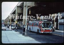 Duplicate Slide Bus Gmc 608 Triboro Coach New York Queens Blvd 1981 Q23