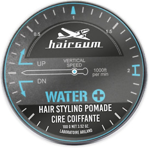 Hairgum Water + Strong Hold Pomade For Men, Hair Styling Product For Men