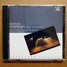 Vaclav Neumann Mahler: Symphony No.1 CD Supraphon 1980 Made in Japan Denon