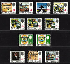 Seychelles 1976 Overprinted incl. Rubber variants inverted print Postfrisch UMM