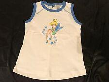 Disney Women's Size Large Tinker Bell Pajama Sporty Tank Top Cami PJ L EUC Tink