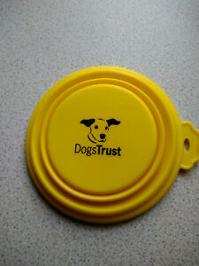 Dogs Trust Collapsible Silicon Water/Travel/Food Bowl
