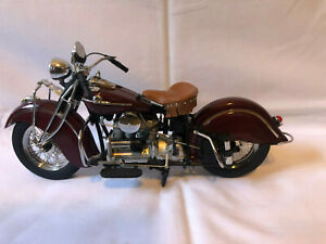 Franklin Mint 1942 Indian 442 Motorcycle 1/10