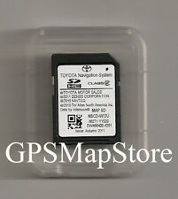 2012 2013 2014 Toyota Sienna NSCD-W12U Navigation SD Card Data Map U.S - Canada