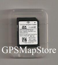 2012 2013 2014 Toyota Sienna NSCD-W12U Navigation DATA SD Card U.S Canada Map OE