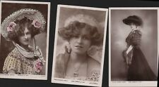 Gabrielle Ray. Edwardian Stage Actress Postcards Lot   RO.30