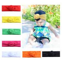 Cute Hair Accessories Toddler Headwear Band Girls Kids Headband Knot Baby Turban