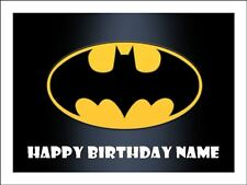 BATMAN A4 (25.5cm x 19cm) KOPYKAKE EDIBLE ICING IMAGE CAKE TOPPER #1