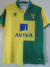 Norwich City 2015-2016 Home camisa tamaño XL/40348