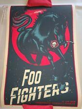 Foo Fighters Poster- Hamburg Germany 6/10/18 Artist Lars P. Krause