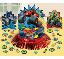 Blaze and Monster Machine Table Decoration Kit Centerpiece Birthday Party Supply
