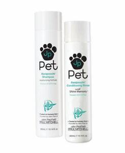 (SET) John Paul Pet Awapoochi Shampoo 10.14 oz & Conditioning Rinse 10.14 oz