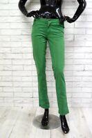 Pantalone JECKERSON Donna Taglia Size 28 Jeans Woman Corto Capri in Cotone