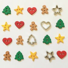 Boutons Dress It Up : Collection Noël - Cut Out Cookies