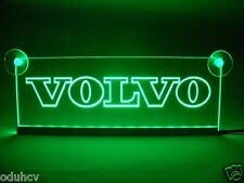 12V VERDE LED ABITACOLO LUCE INTERNA piatto per Volvo Camion NEON TAVOLO STEMMA