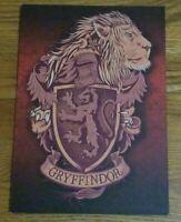 "Gryffindor Crest Hanging Wall Decor Decoration 11.75"" x 8.25"" Harry Potter"