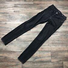 Guess Curvy Sophia Skinny Jeans Black Women's Size 25R x 31.5 D81